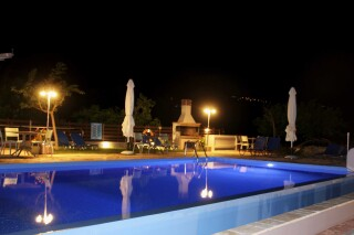 facilities george studios pool by night