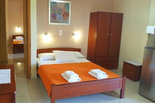two-bedroom apartment george bedroom