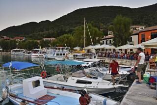 vassiliki george studios lefkada boats